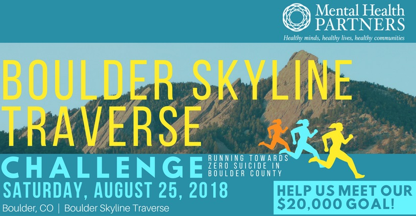 Boulder Skyline Traverse Challenge Will Raise Funds For Suicide