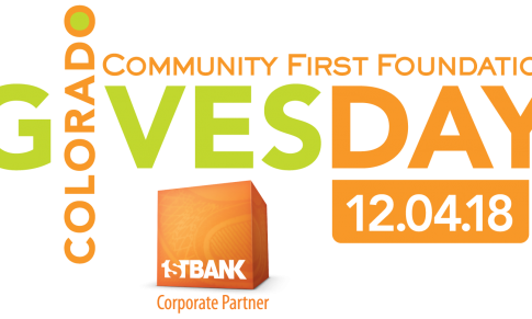 "Get a Head Start on Your Holiday Giving! ""Colorado Gives Day"" is Tuesday, December 4th"