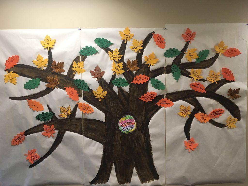 thankful tree - Mental Health Partners