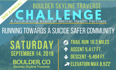 Mental Health Partners Hosts 2nd Annual Boulder Skyline Traverse