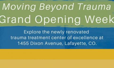 Moving Beyond Trauma Celebrates Newly Remodeled Trauma Treatment Center of Excellence with Grand Opening Events