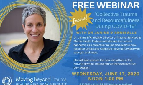 Upcoming Moving Beyond Trauma Lecture Explores Collective Trauma and Resourcefulness