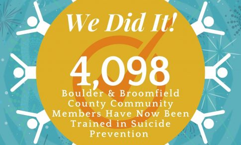 """Mental Health Partners Reaches Goal in """"Be 1 of 4098"""" Suicide Prevention Campaign"""