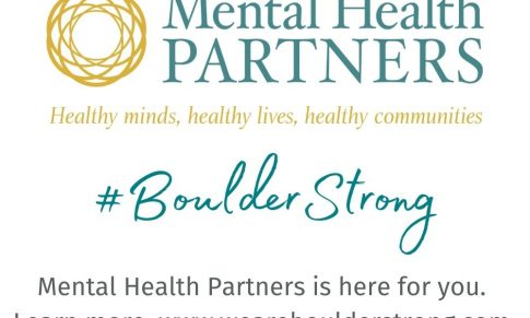 """Mental Health Partners Statement:  New """"We Are Boulder Strong"""" Website Creates Safe, Digital Space for Healing"""