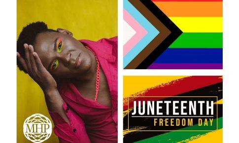 Mental Health Partners: Celebrating Juneteenth and PRIDE